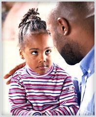 Children during a divorce